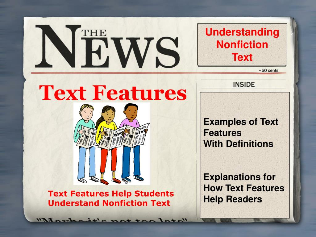 text features l.