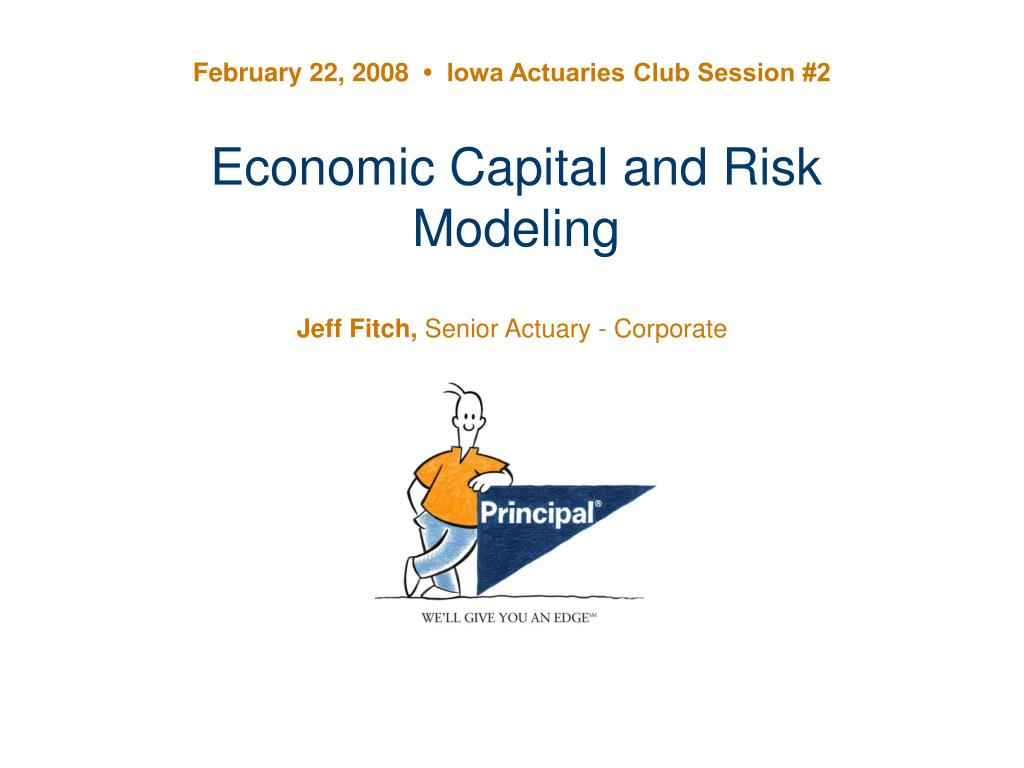 economic capital and risk modeling l.