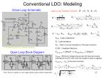 conventional ldo modeling