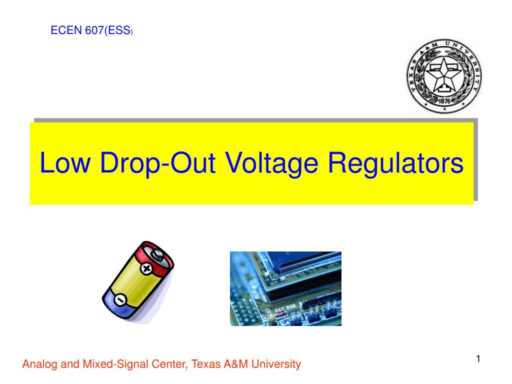 low drop out voltage regulators l.