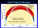 cool tropics paradox
