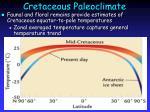 cretaceous paleoclimate