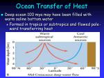 ocean transfer of heat15