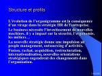 structure et profils37