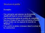 structure et profils38