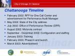 chattanooga timeline