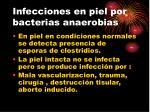 infecciones en piel por bacterias anaerobias