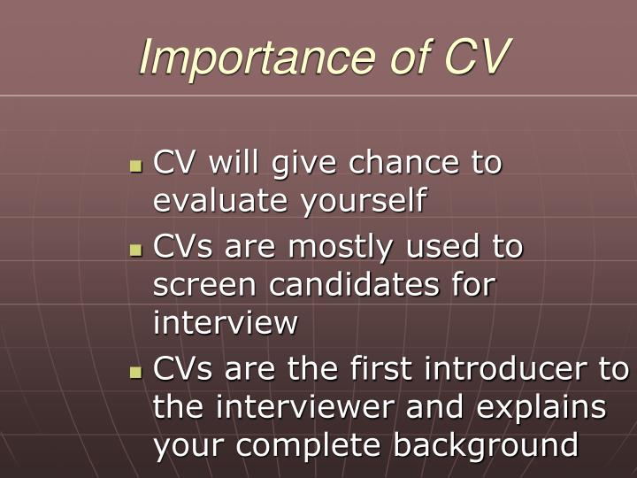 ppt - presentation on better preparation of curriculum vitae powerpoint presentation