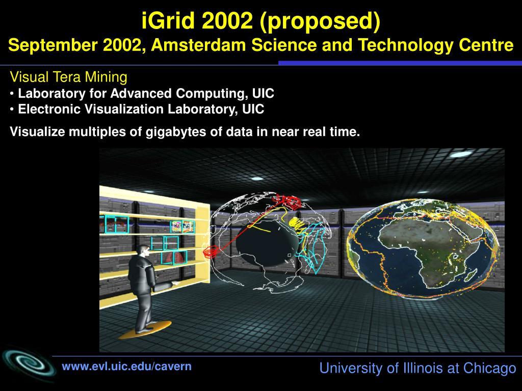 iGrid 2002 (proposed)