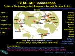 star tap connections science technology and research transit access point