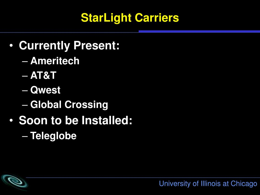 StarLight Carriers