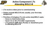 active component lts attending bolc b