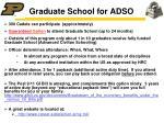 graduate school for adso