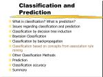 classification and prediction45