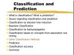 classification and prediction47