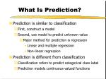 what is prediction