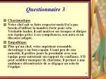 questionnaire 31