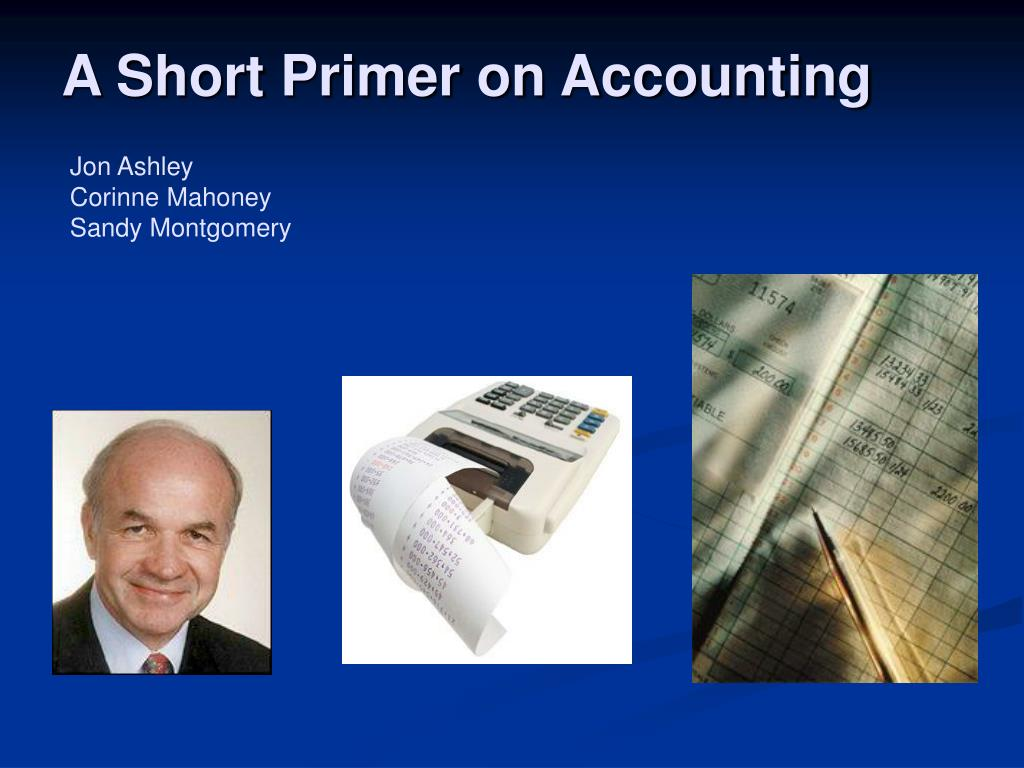 a short primer on accounting l.