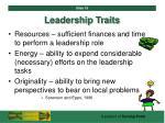 leadership traits18