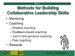 methods for building collaborative leadership skills71