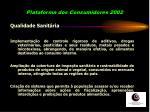 plataforma dos consumidores 2002