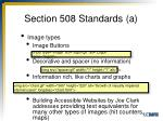 section 508 standards a5
