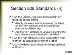 section 508 standards n2