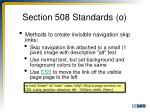 section 508 standards o4