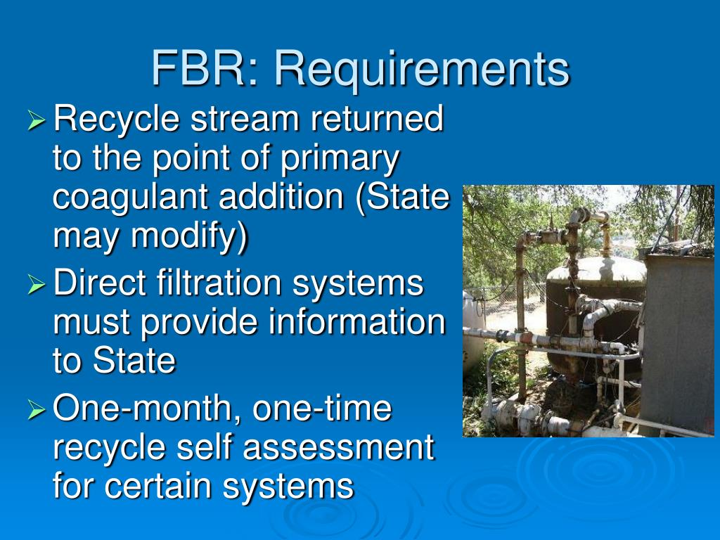 FBR: Requirements