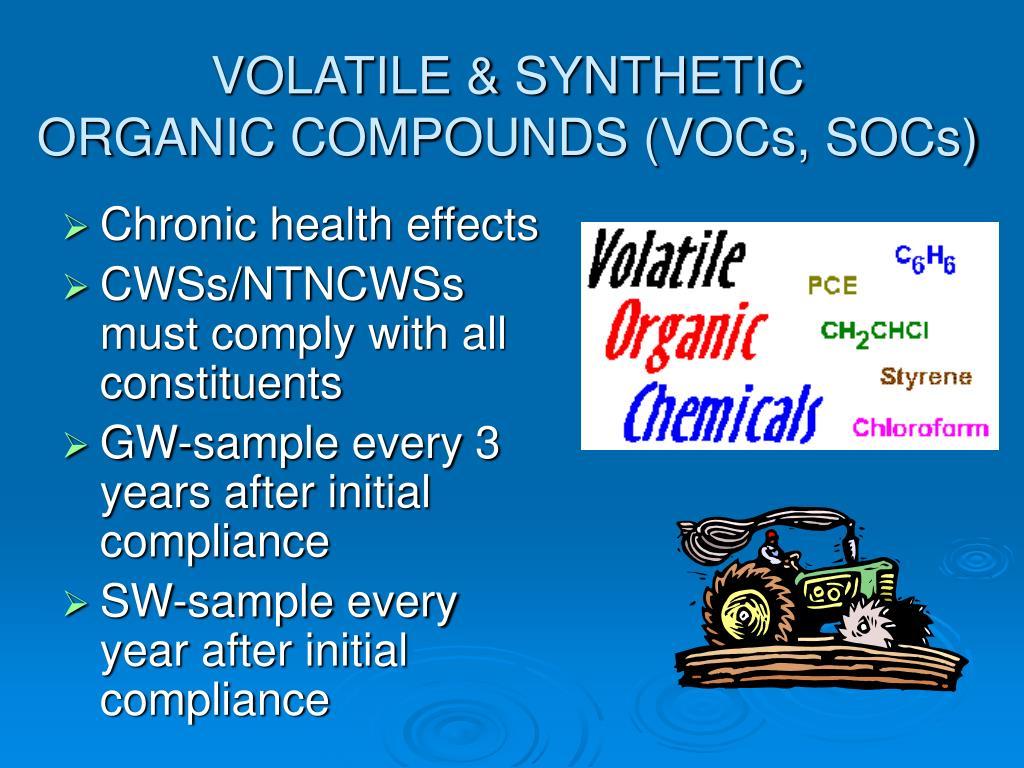VOLATILE & SYNTHETIC