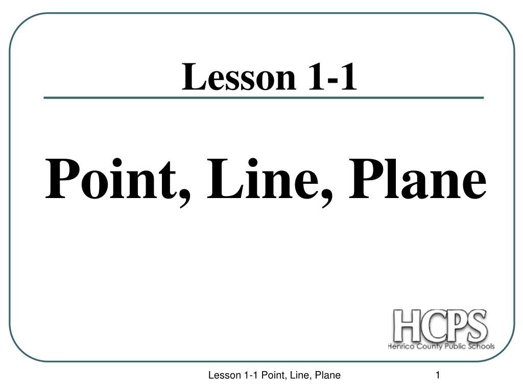 lesson 1 1 l.