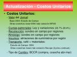 actualizaci n costos unitarios
