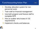 fund accounting action plan86