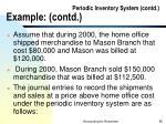 periodic inventory system contd example contd