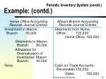 periodic inventory system contd example contd81