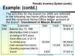 periodic inventory system contd example contd83