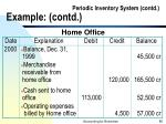 periodic inventory system contd example contd85