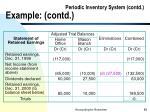 periodic inventory system contd example contd88