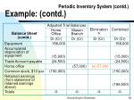 periodic inventory system contd example contd90