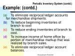 periodic inventory system contd example contd91