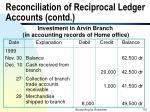 reconciliation of reciprocal ledger accounts contd101