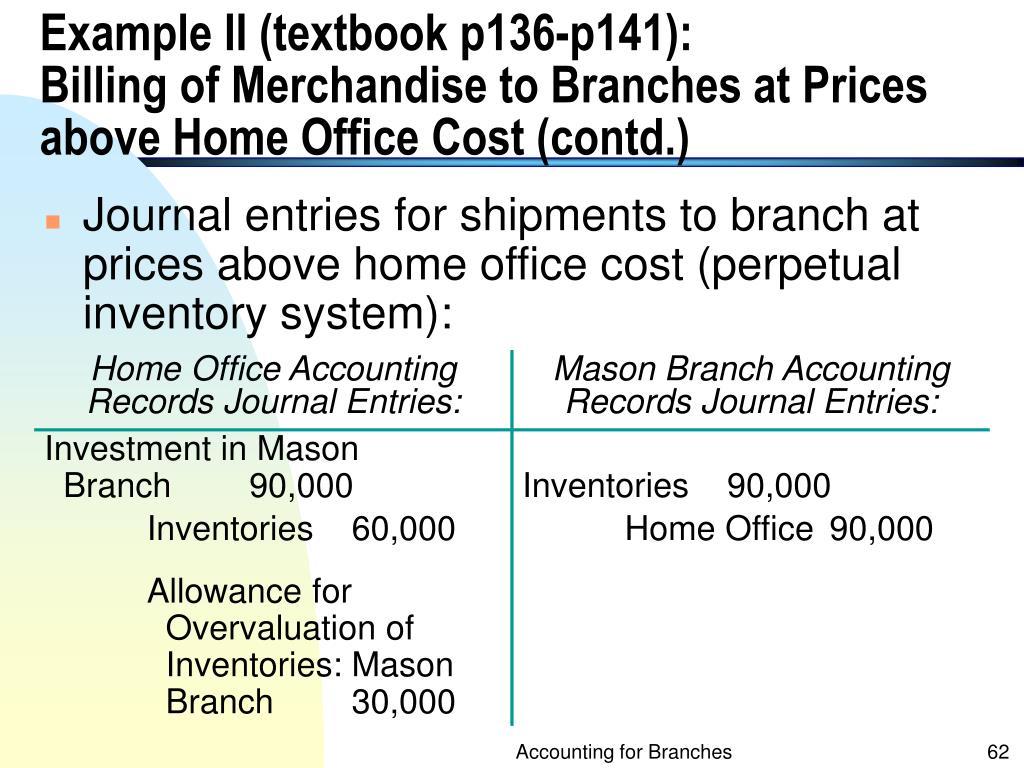 Example II (textbook p136-p141):