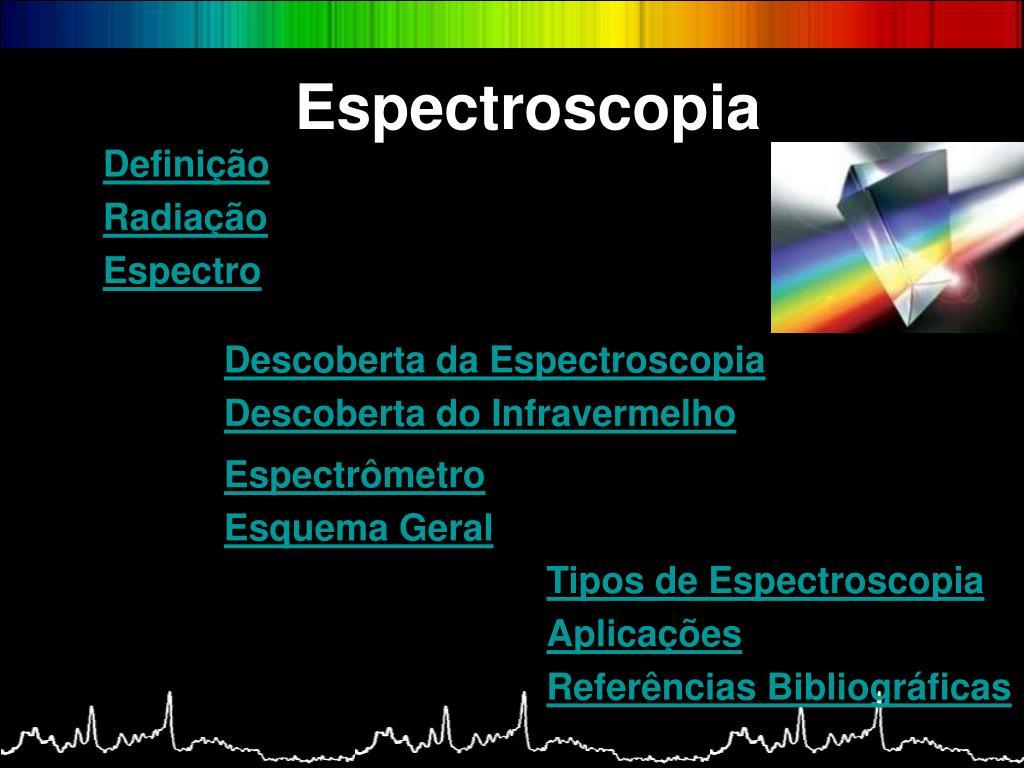 espectroscopia l.