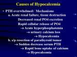 causes of hypocalcemia16