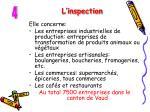 l inspection