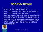 role play review