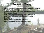 concerns today