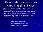 estadio de las operaciones concretas 7 a 12 a os