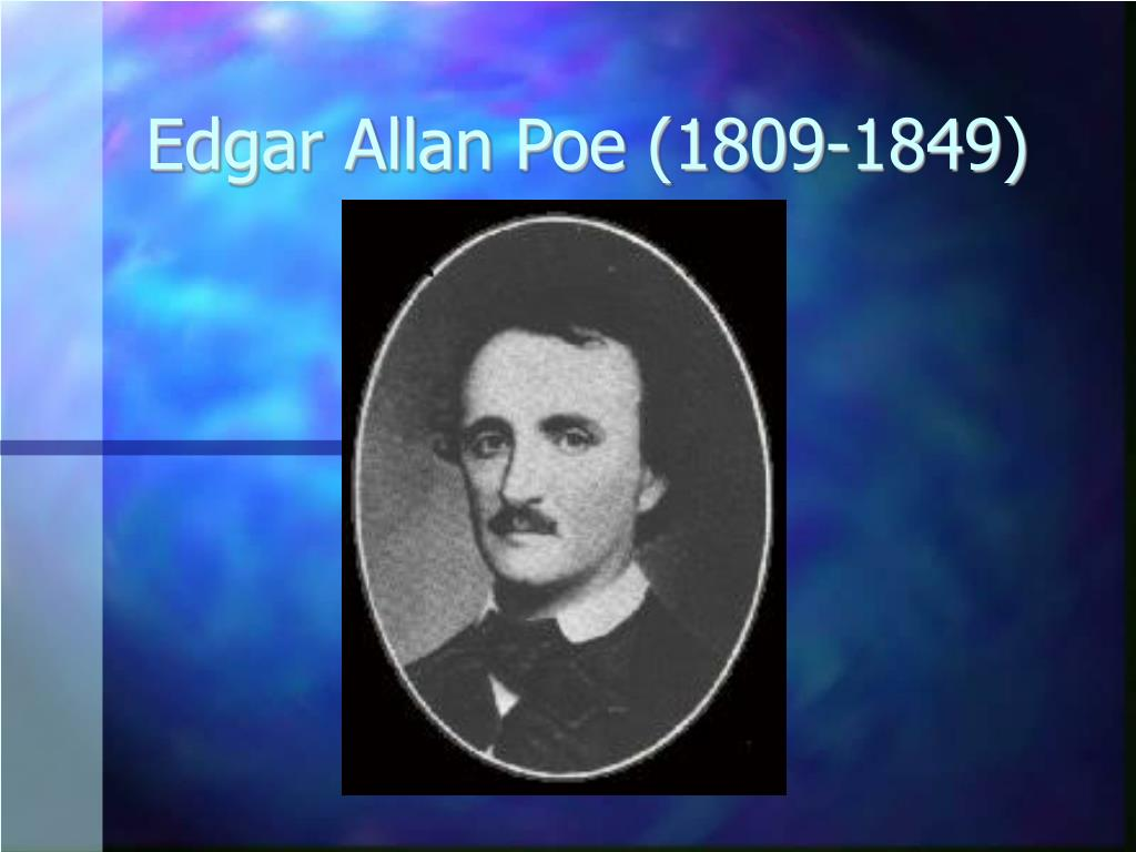 edgar allan poe 1809 1849 l.