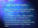 poe and the gothic